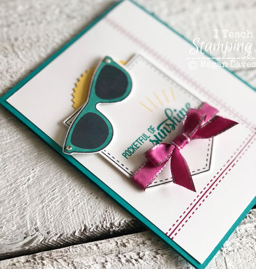 Stampin Up Pocketful of Sunshine | Using Stampin Blends