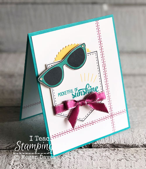 Stampin Up Pocketful of Sunshine