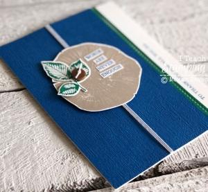 Textured Cardstock | Stampin Up Subtle Embossing Folder