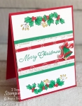 Handmade Christmas Card Using the Blended Seasons Bundle