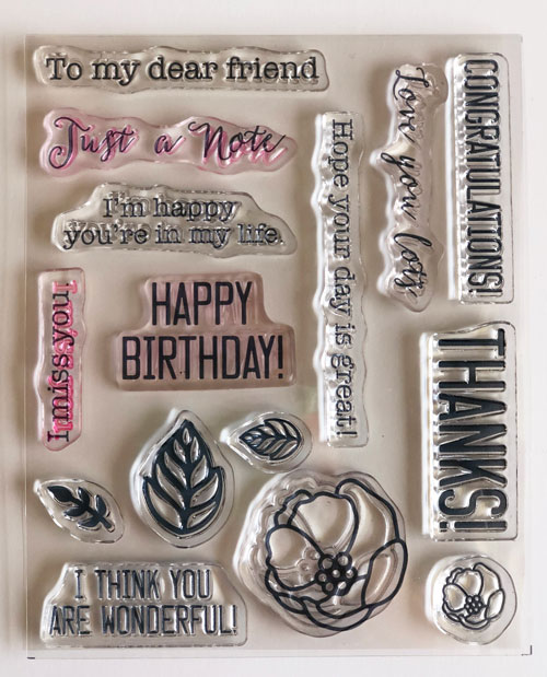Soft Sayings Stampin up