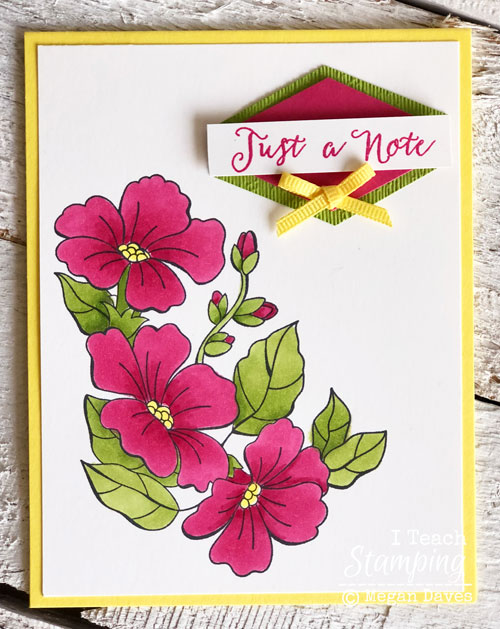 Stampin Up Blended Seasons Bundle | Another view