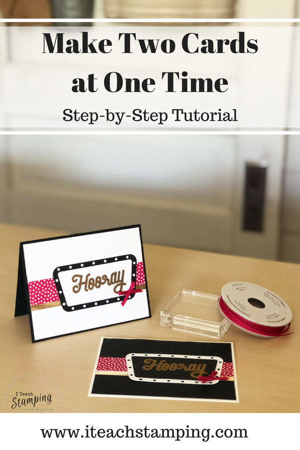 Stampin Up Broadway birthday