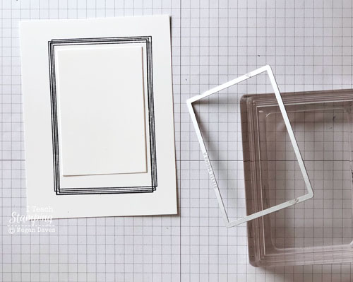 Stampin Up Swirly Frames | the issue