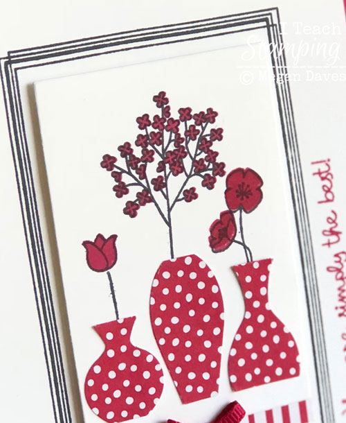 Stampin Up Swirly Frames | the stamping