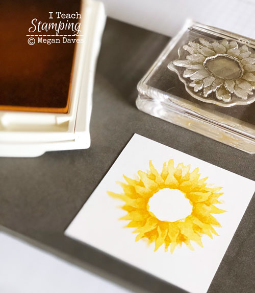 2 step stamping | step 2