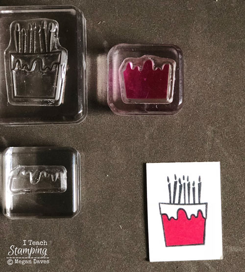 Stampin Up Two Step Stamping | Step 2