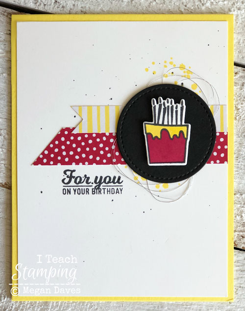 Stampin Up Two Step Stamping