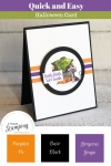 Stampin Up Toil & Trouble | with color combination