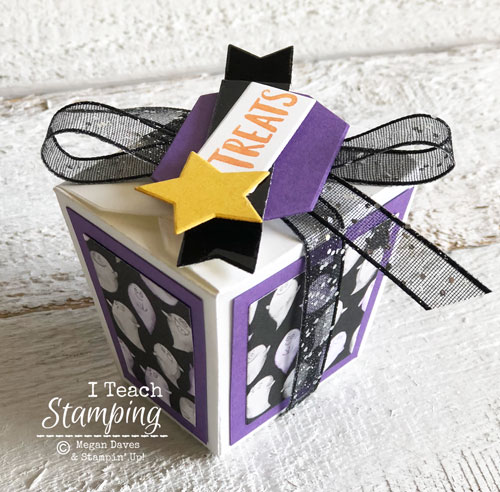 Takeout Treat Boxes from Stampin Up
