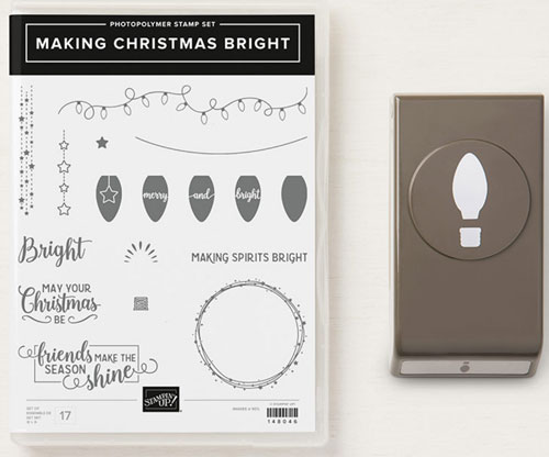 Stampin Up Making Christmas Bright Bundle