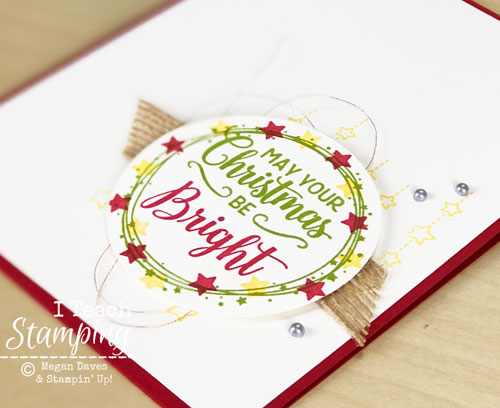 Stampin Up Making Christmas Bright | See the details