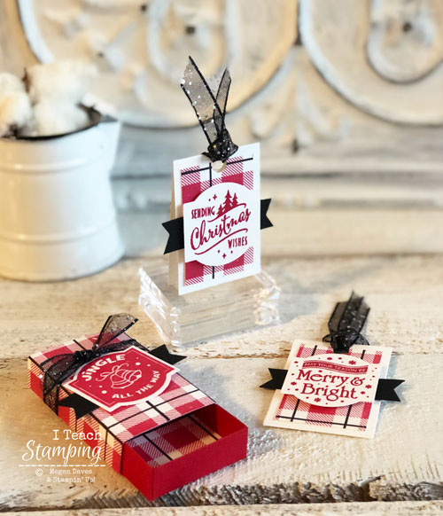 Stampin Up Christmas Traditions Punch Box – On Sale 40% Off!