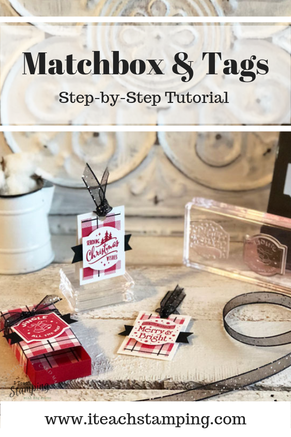 Stampin Up Christmas Traditions Punch Box
