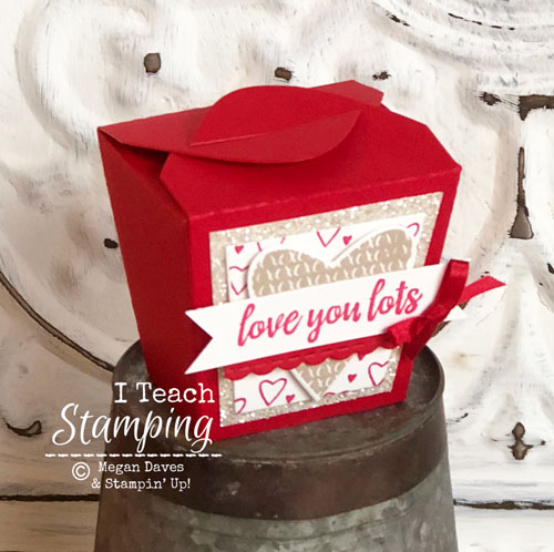 stampin up takeout treats bundle | The box
