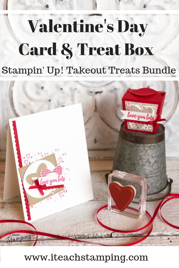 stampin up takeout treats bundle
