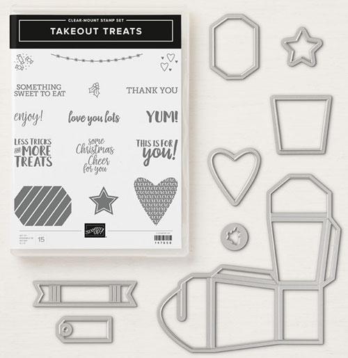 takeout treats bundle stampin up