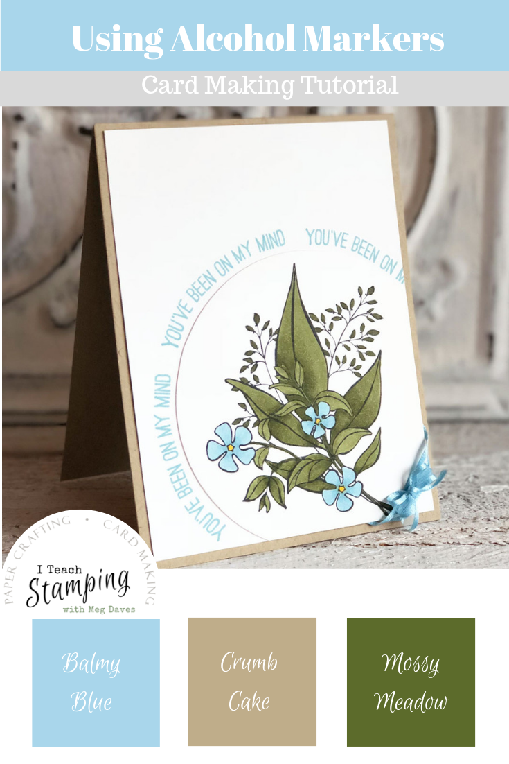 Curving Photopolymer Stamps | With Color Palette