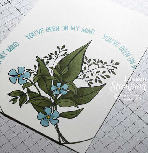 Curving Photopolymer Stamps | curving around a circle