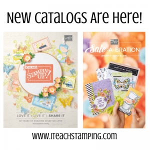 Stampin Up Occasions Catalog and Sale-a-Bration 2019