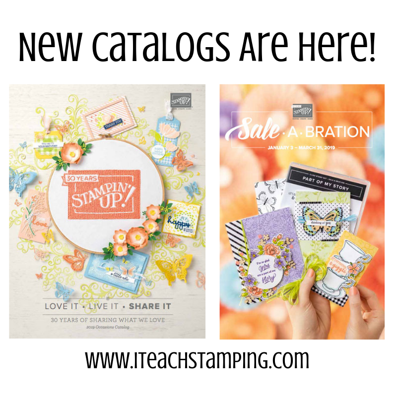 Stampin Up Occasions Catalog and Sale-a-Bration 2019 | I