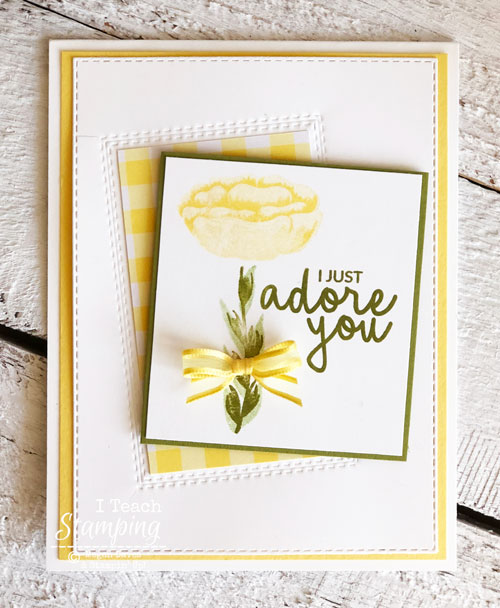 Stunning Greeting Card Made in a Flash |The finished project