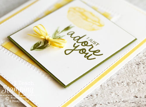 Stunning Greeting Card Made in a Flash | with two step stamping