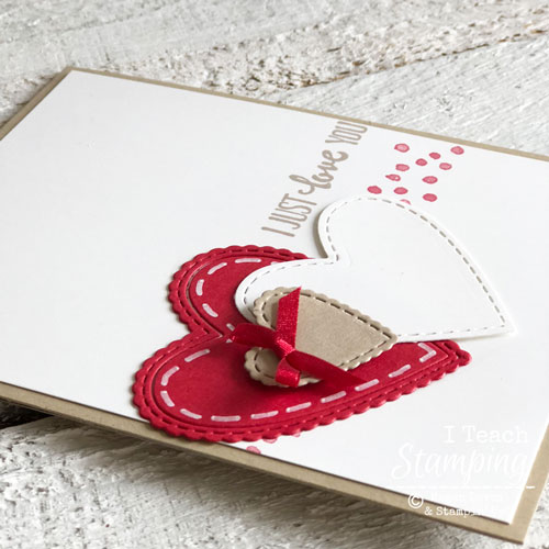 Valentine Day Cards Handmade by You | See all the layers