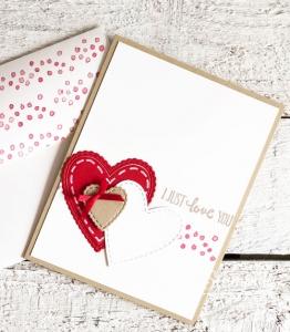 Pretty Valentine Day Cards Handmade by You