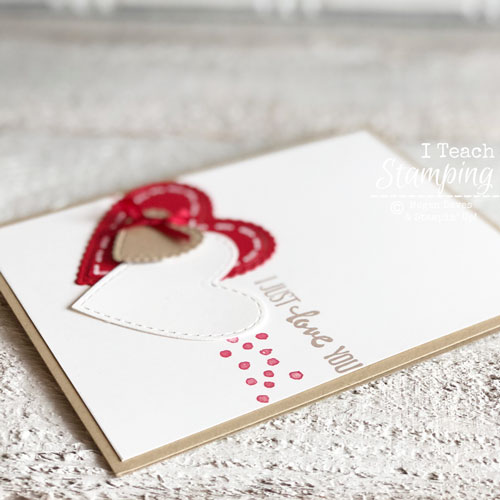 Valentine Day Cards Handmade by You | The stamping