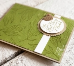 handmade masculine cards | metallic thread