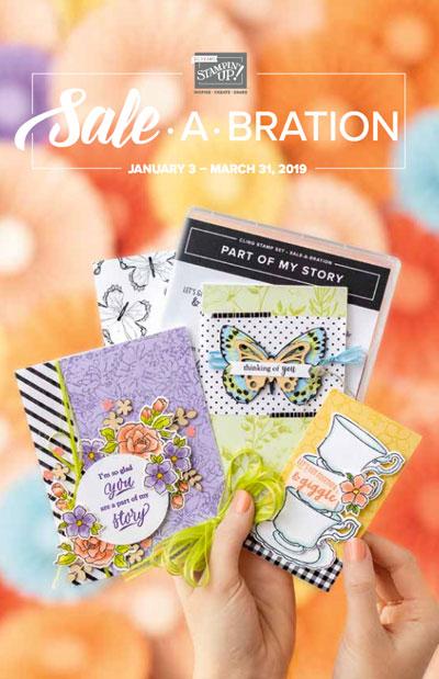 Sale A Bration Catalog Cover