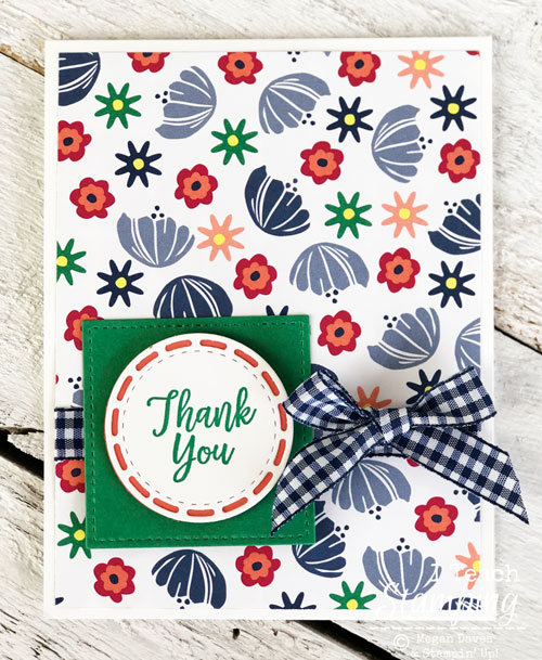 Making Handmade Floral Thank You Cards