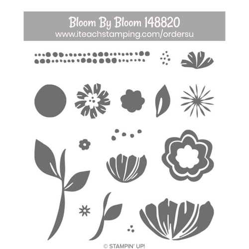 stampin up bloom by bloom