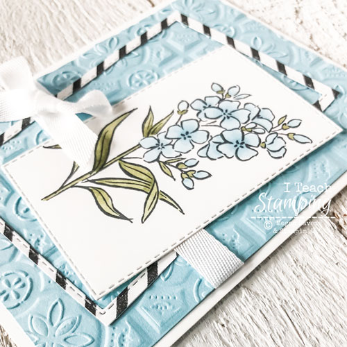 Using Stampin Blends To Make a Simple Card