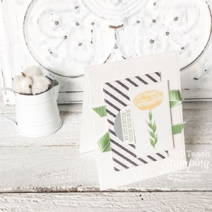 Two Step Stamping with Incredible Like You from Stampin Up
