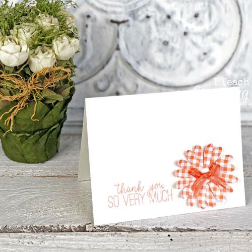{VIDEO} Simple Handmade Card