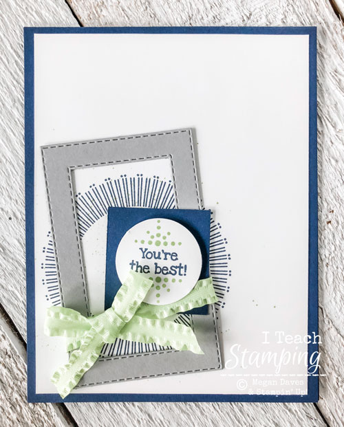 Stampin Up Bouquet Blooms | All the layers