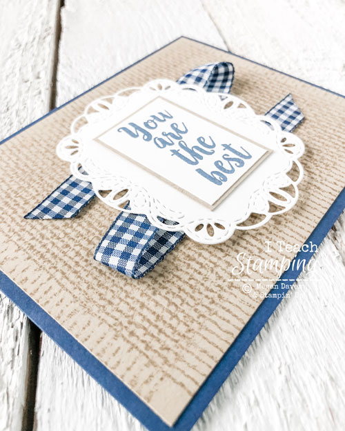 Burlap Background stamp | layers
