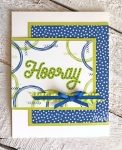 Handmade Congratulations Card | the entire handmade card