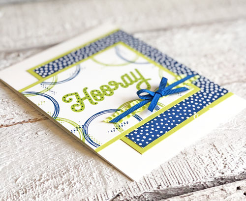 Handmade Congratulations Card | the stamping