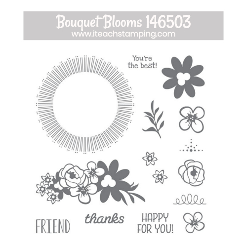 bouquet blooms stampin up