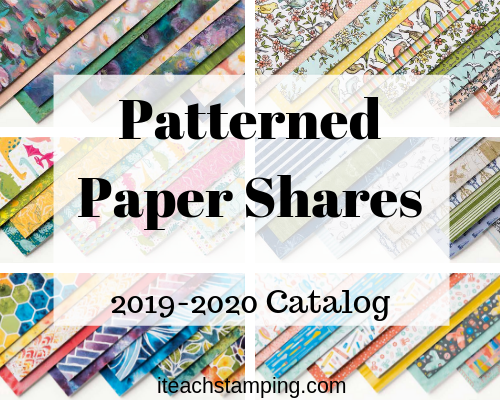 LAST DAY!  New Catalog Paper Share