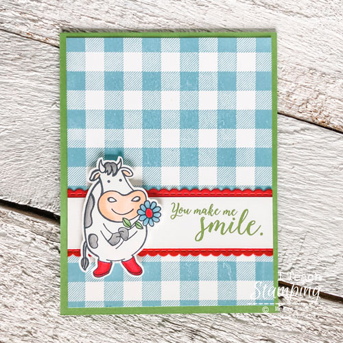 stampin blends coloring | over the moon stampin up