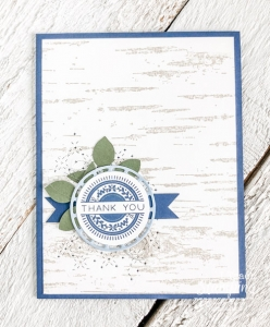 Birch Background Stamp for Your Card Making