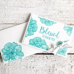 simple handmade note card you can make in minutes