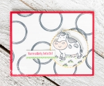 Stampin Up Swirly Frames Card Idea | the finished card