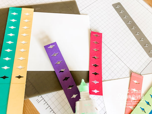 Paper scrap shazam! Click through to see how leftovers became part of a lovely card!