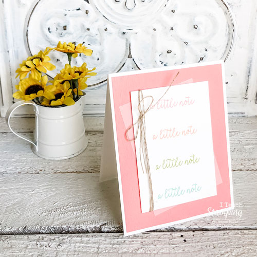 simple and cute handmade card | The final project