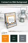No Tricks, Just Treats Halloween Card | finished project